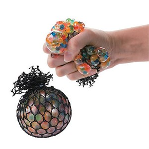 Water Bead Netted Squish Ball