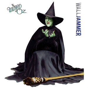 Wicked Witch Melting - Wizard Of Oz Wall Decor