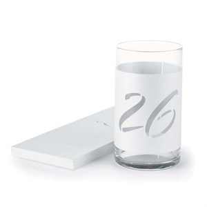 Wine Bottle Table Number Wraps