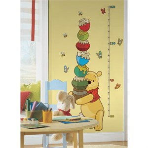 Winnie the Pooh And Friendsl Metric Growth Chart