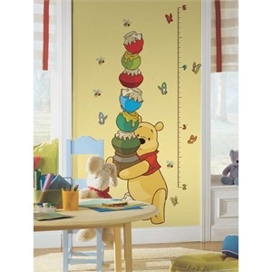 Winnie the Pooh-Pooh INCHES Growth Chart