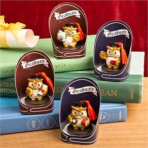 Wise Owl Graduation Charms