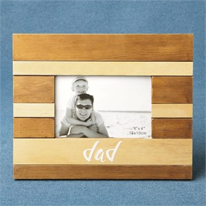 Wood Two Tone Frame Dad
