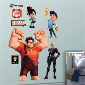Wreck-It Ralph Collection REALBIG Wall Decal