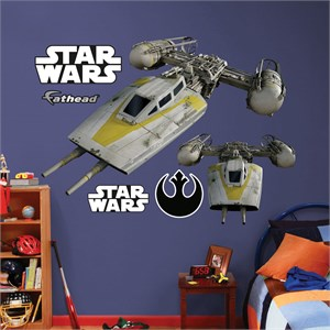 Y Wing Starfighter REALBIG Wall Decal