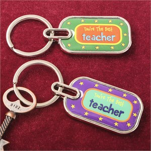 You're The Best Teacher Key Chain
