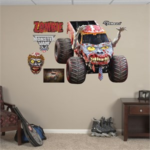 Zombie REALBIG Wall Decal